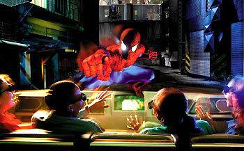 spiderman ride