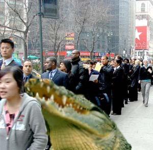Croc in Line