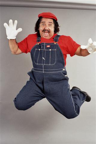 Ron Jeremy Super Mario