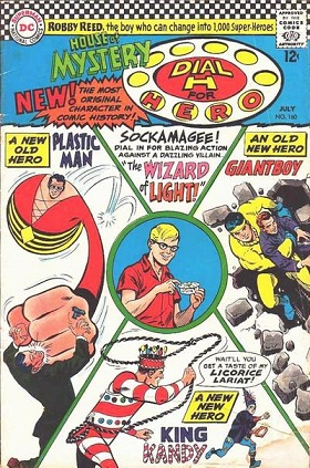 Ben 10 Dial H for Hero DC Comic