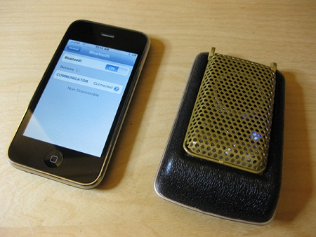 iphone cell phone bluetooth star trek communicator
