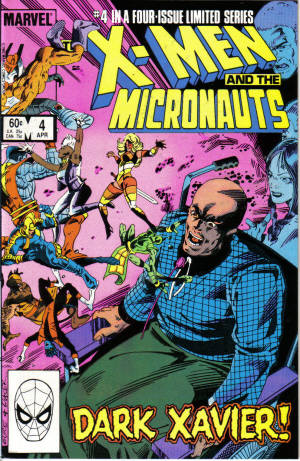 Micronauts Mavel Xmen Cross Over
