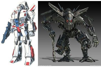 Jetfire Character Transformer