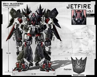 Jetfire Transformer Concept