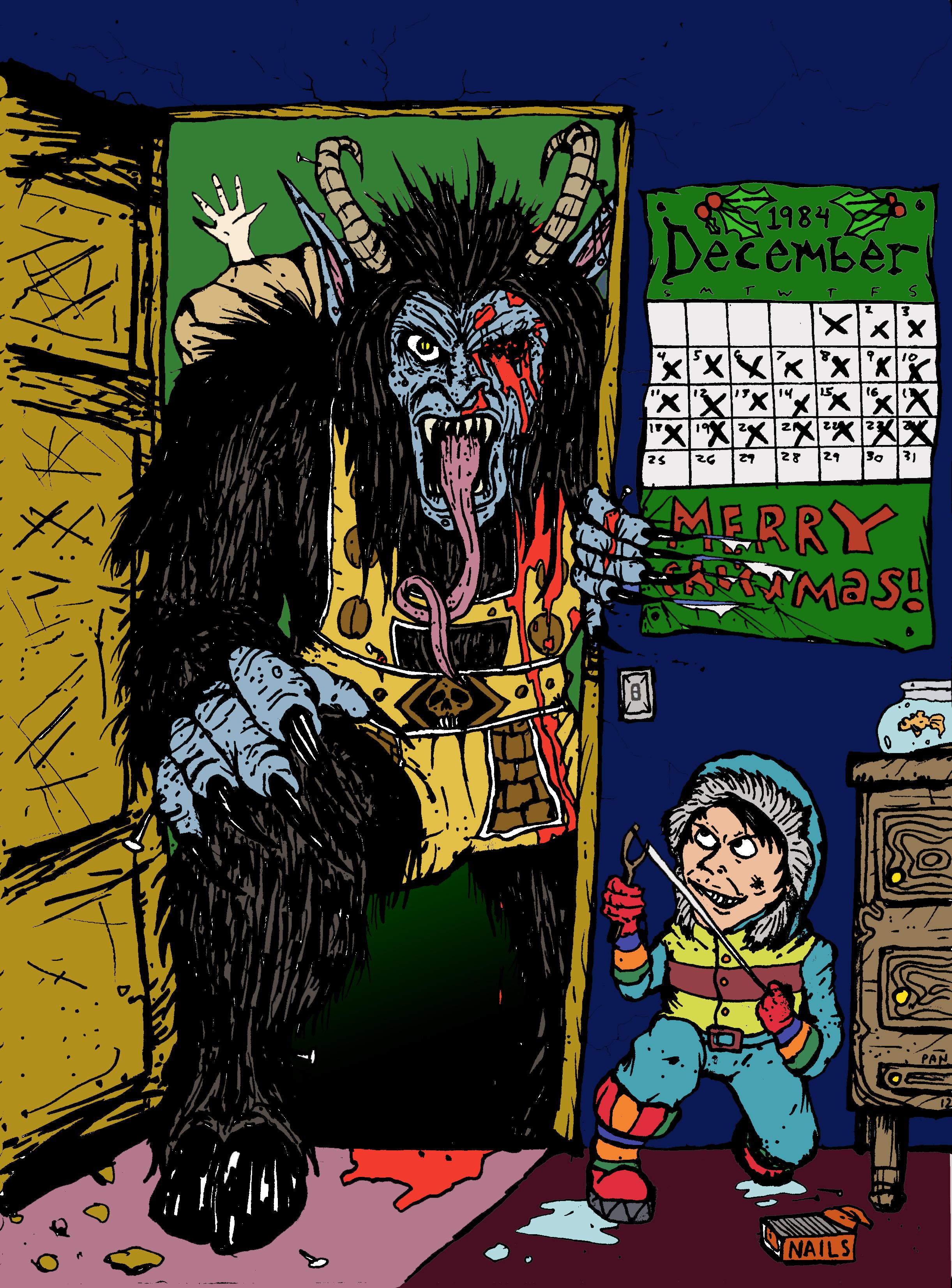 Krampus Comic Book