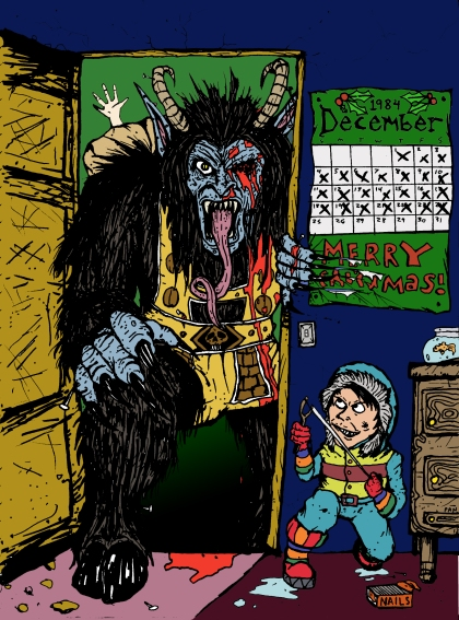 Krampus Comic Book
