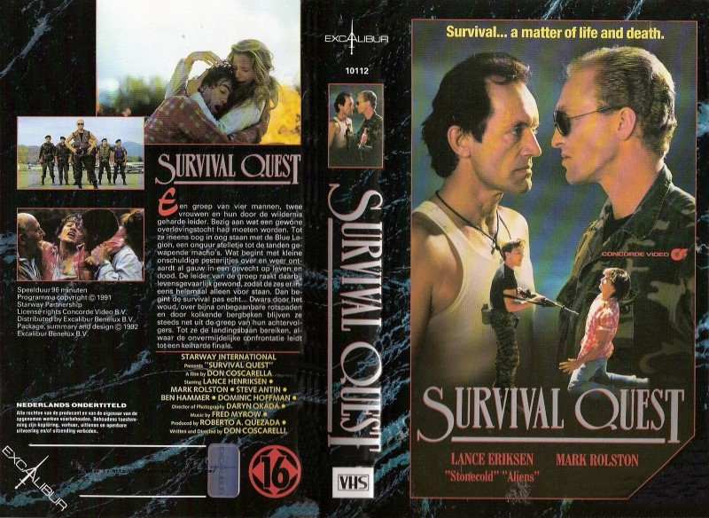 survival quest dutch vhs front & back2