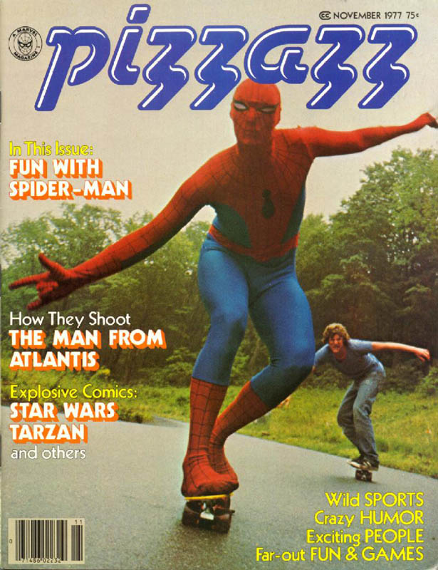 This pic really has nothing to do with this post-I just think it's rad seeing 1970's Spidey on a skateboard.