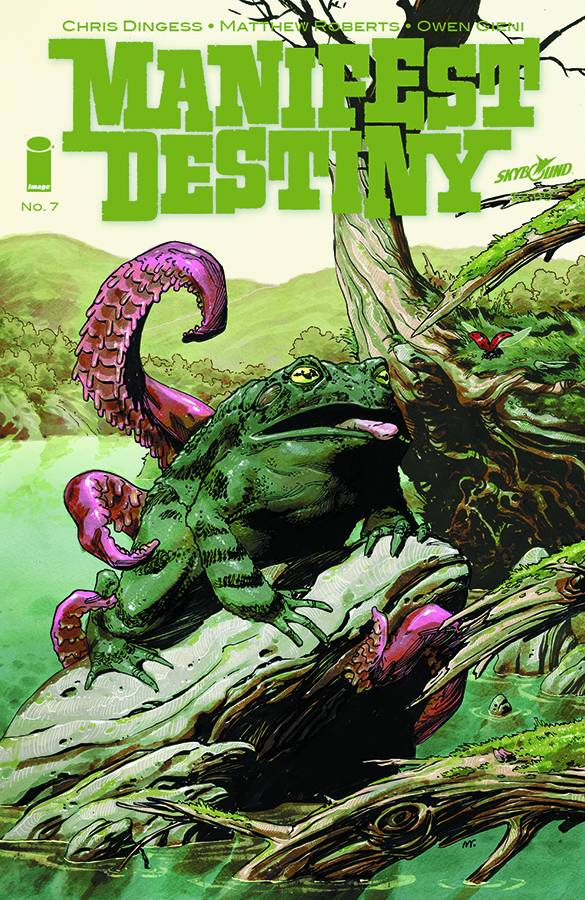 Manifest Destiny #7, Image/Skybound What else can I say here about this comic book? It's could be my fave title at the moment-the first story arc was a great and it's now in trade paperback form so I suggest checking it out. This title gives me similar feelings of when I first got  hooked onThe Walking Dead!