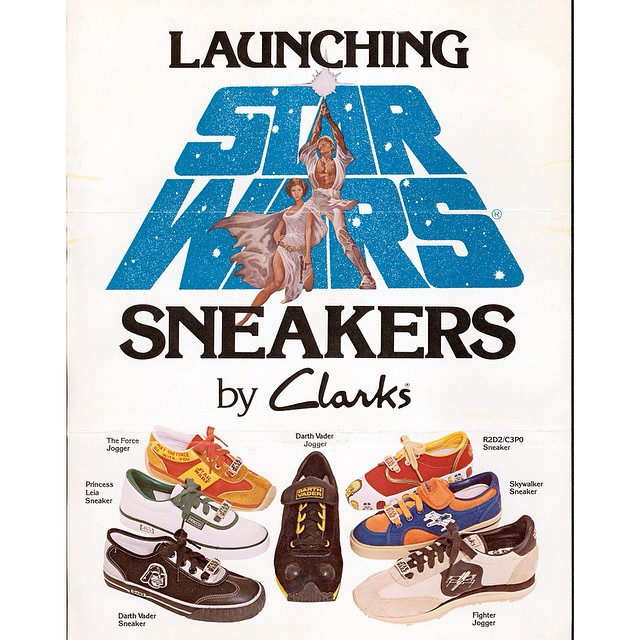 a-vintage-ad-for-starwars-themed-clarks-shoes-good-luck-finding-these-babies-at-your-local-thrift-s