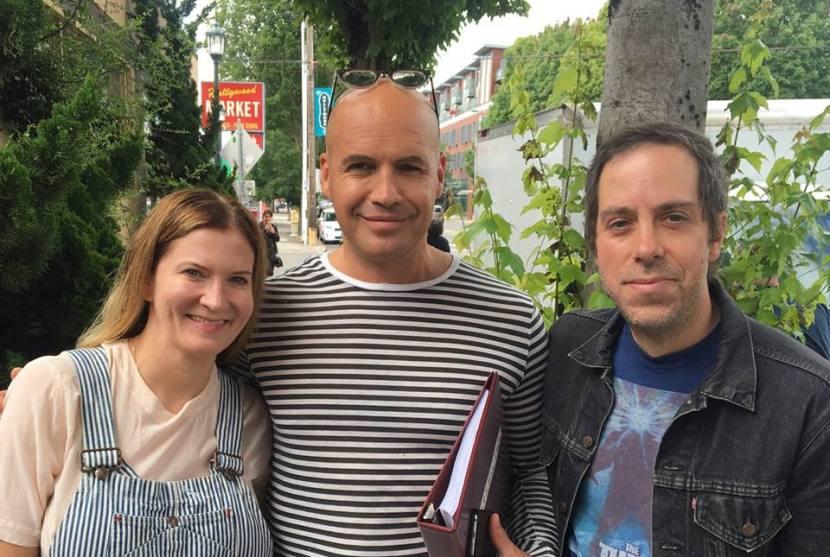 Billy, Brigid & Me in Portland, OR