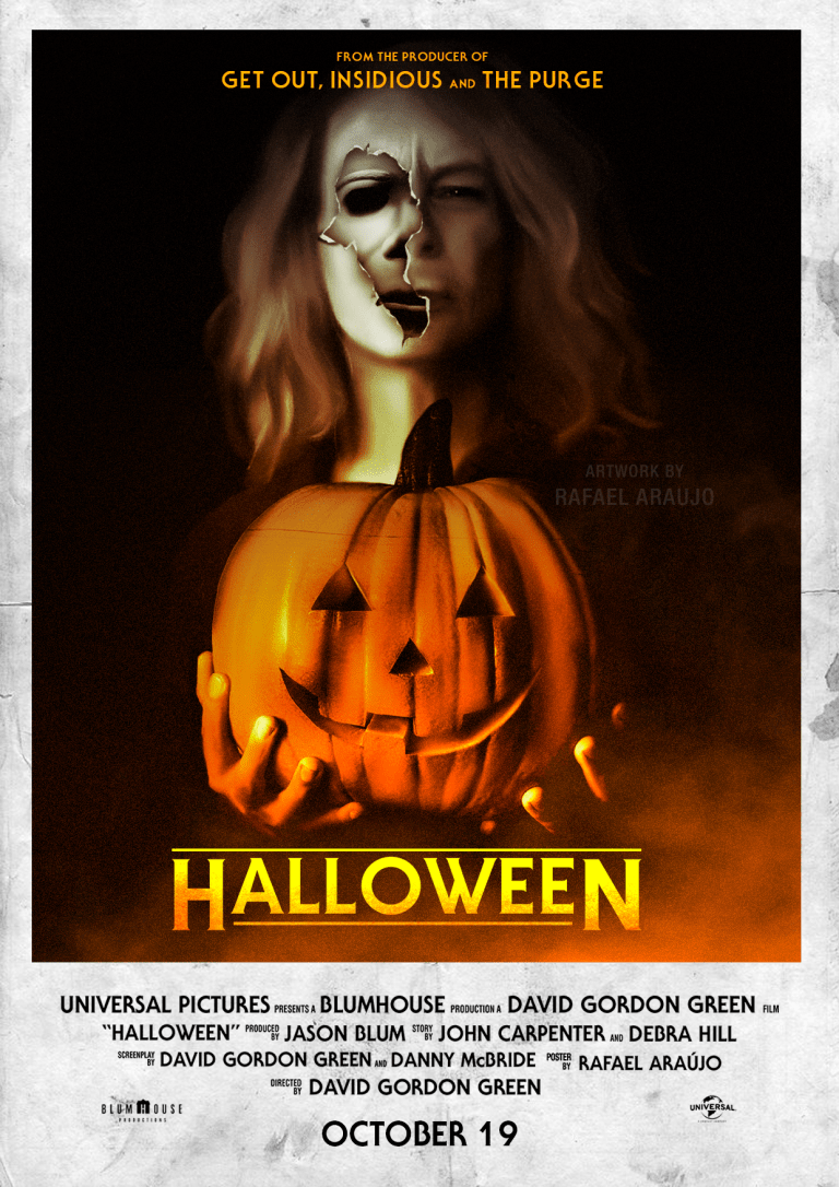 Halloween Movie Pumpkin 2018.Halloween 2018 Was It Really Better Than Halloween H20