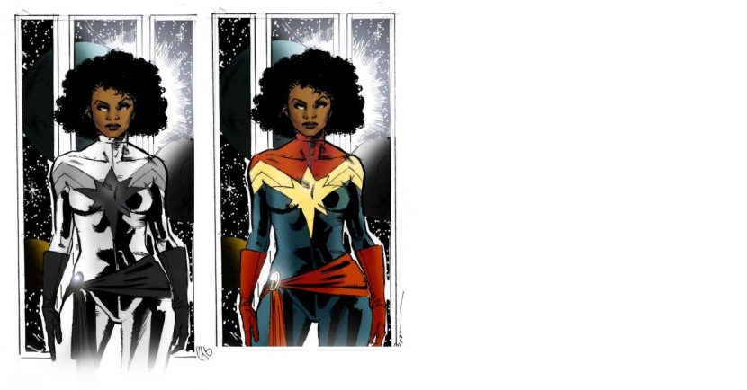 The Real Controversy Why Did The Mcu Decide To Whitewash Captain Marvel Monica rambeau is a superhero with all three. mcu decide to whitewash captain marvel